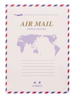 マルアイ エアメール便箋 ヒ-226