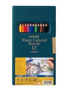 サクラ 水彩鉛筆 EPY12