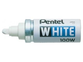 ぺんてる ホワイト太字 X100-WD