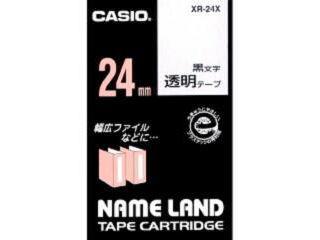 カシオ ネームランドテープ XR-24X