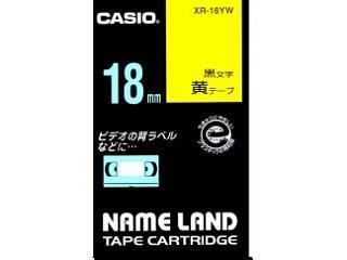 カシオ ネームランドテープ XR-18YW