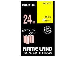 カシオ ネームランドテープ XR-24YW