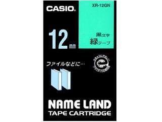 カシオ ネームランドテープ XR-12GN