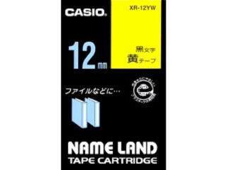 カシオ ネームランドテープ XR-12YW