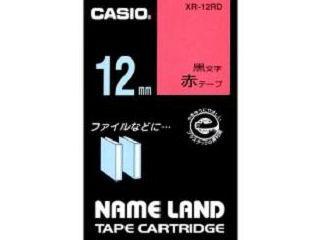 カシオ ネームランドテープ XR-12RD