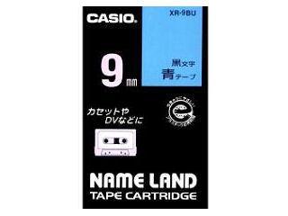 カシオ ネームランドテープ XR-9BU