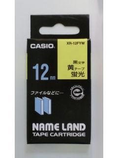 カシオ ネームランド テープ XR-12FYW
