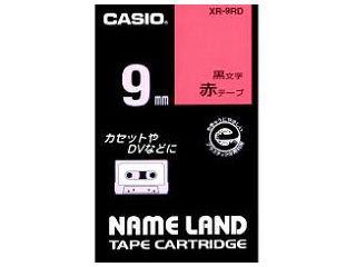カシオ ネームランドテープ XR-9RD