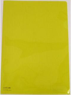 リヒト クリアーホルダー 黄色