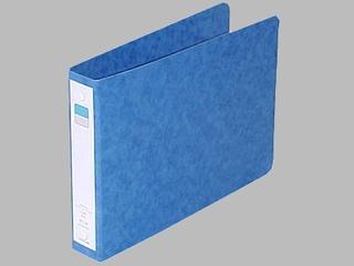 LIHITLAB リングファイル A5E 2穴 F-831 藍
