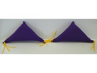 三角フトン 紫 S-127