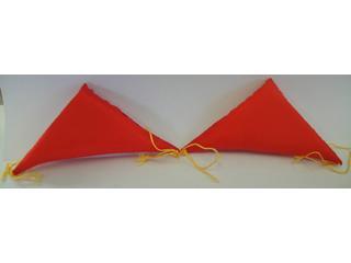 三角フトン 赤 S-128