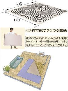 コロナ ソフトパネル(2畳用折りたたみ式) UP 22F