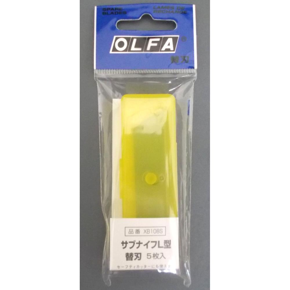 オルファ カッター替刃(サブナイフL型用・5枚入) XB108S