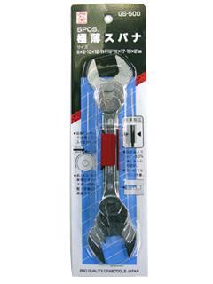 クラブ 工具スパナ 5PCセット