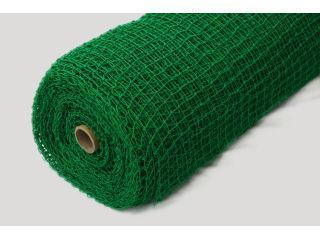 ポリ有結ゴルフネット 約2.5mm 2m×30m ダブル 緑