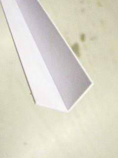 光モール ホワイトアングル 15X15 1820MM NO.321