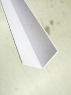 光モール ホワイトアングル 20X20 1820MM NO.322