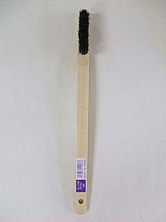 竹ブラシ 曲り柄