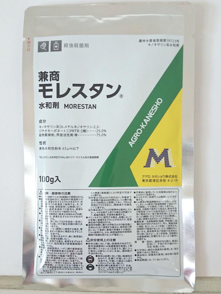 モレスタン水和剤100G