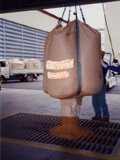大型米麦袋 1000L 底面排出型