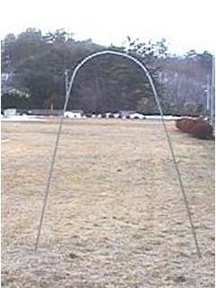 キュウリ支柱セット Ф19×2750mm