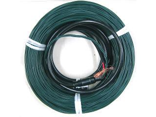 農電ケーブル 三相 200V×500W×60m