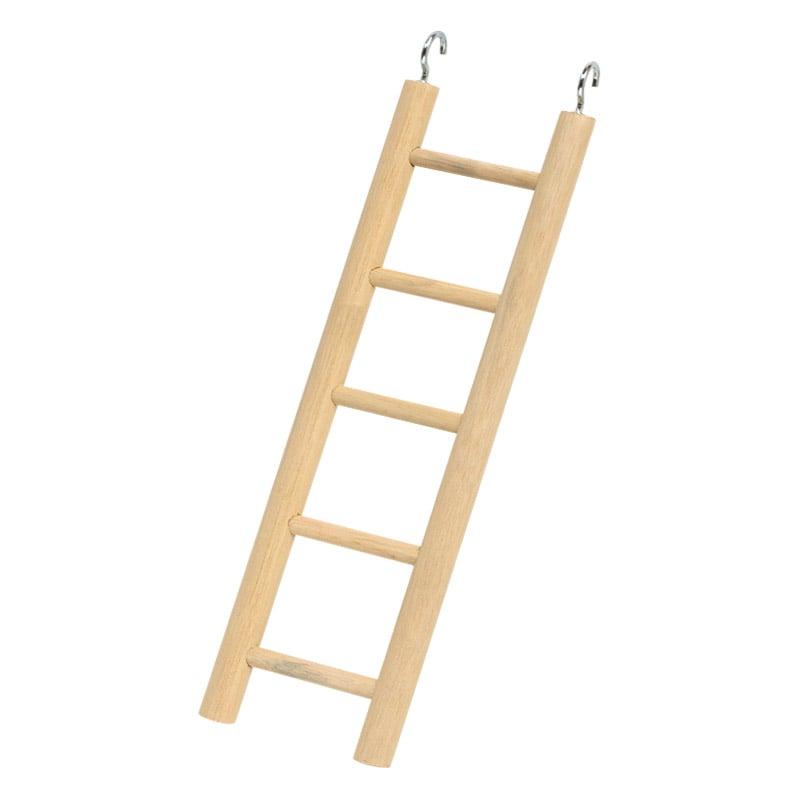 スドー 木製5段式はしご Bー1501