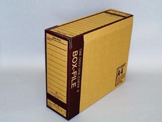 LIHITLAB ボックスファイル A4 再生紙 F-2207