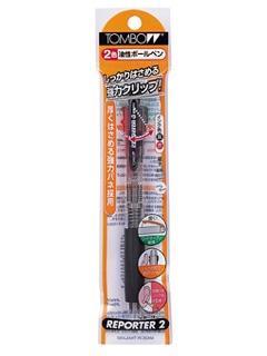 トンボ 2色ボールペン FCB-124透明