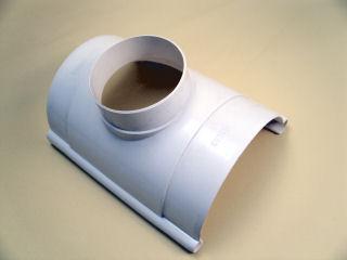 F型集水器105×60ミルクホワイトKQ0347