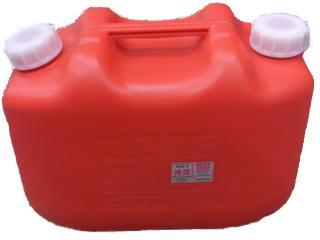灯油缶 赤 10L