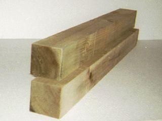 防虫防腐木材 4×4 約1000mm