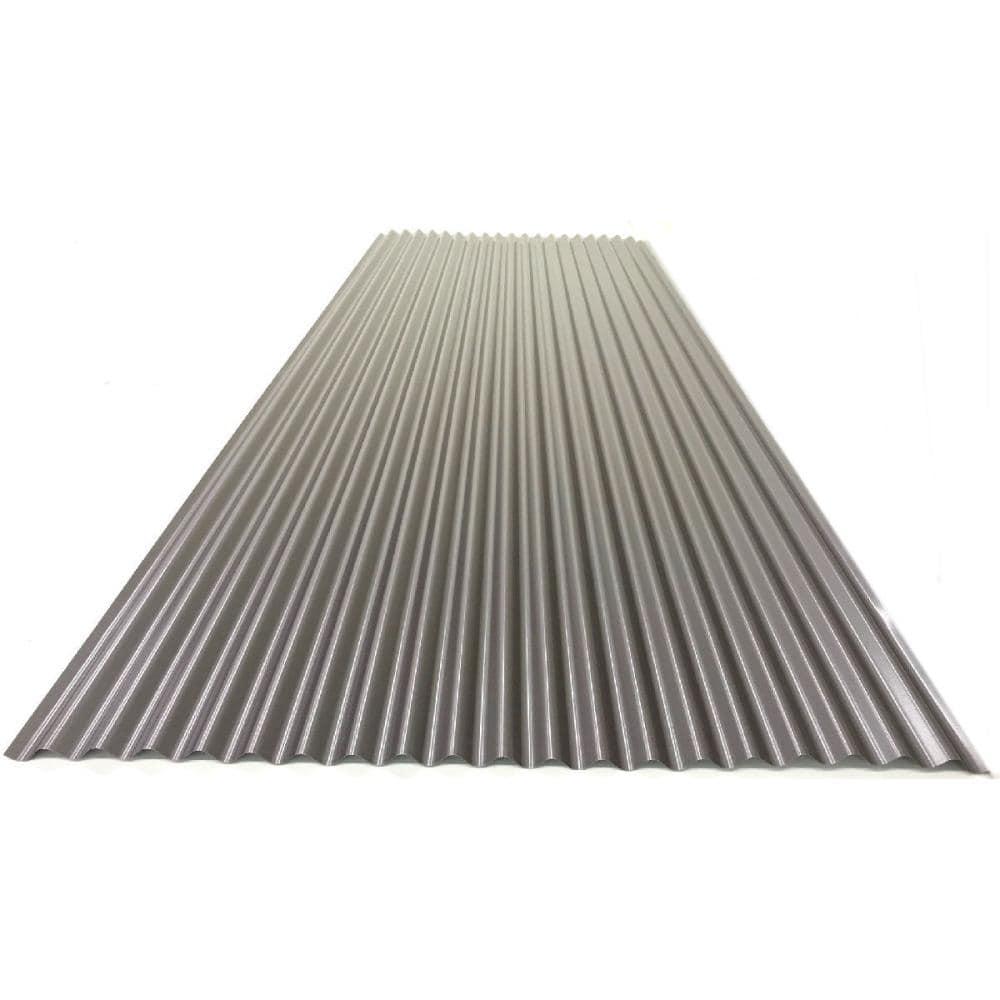 カラートタン波板 0.19mm厚 新茶 6尺