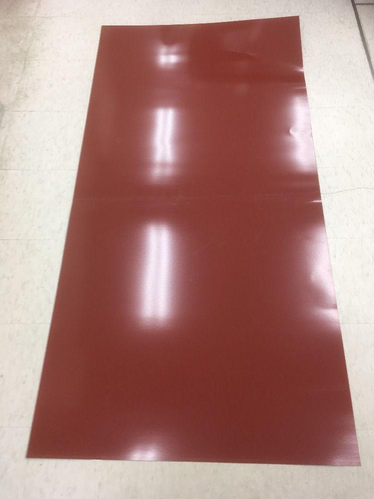 カラー平トタン レッド 0.27×3×6