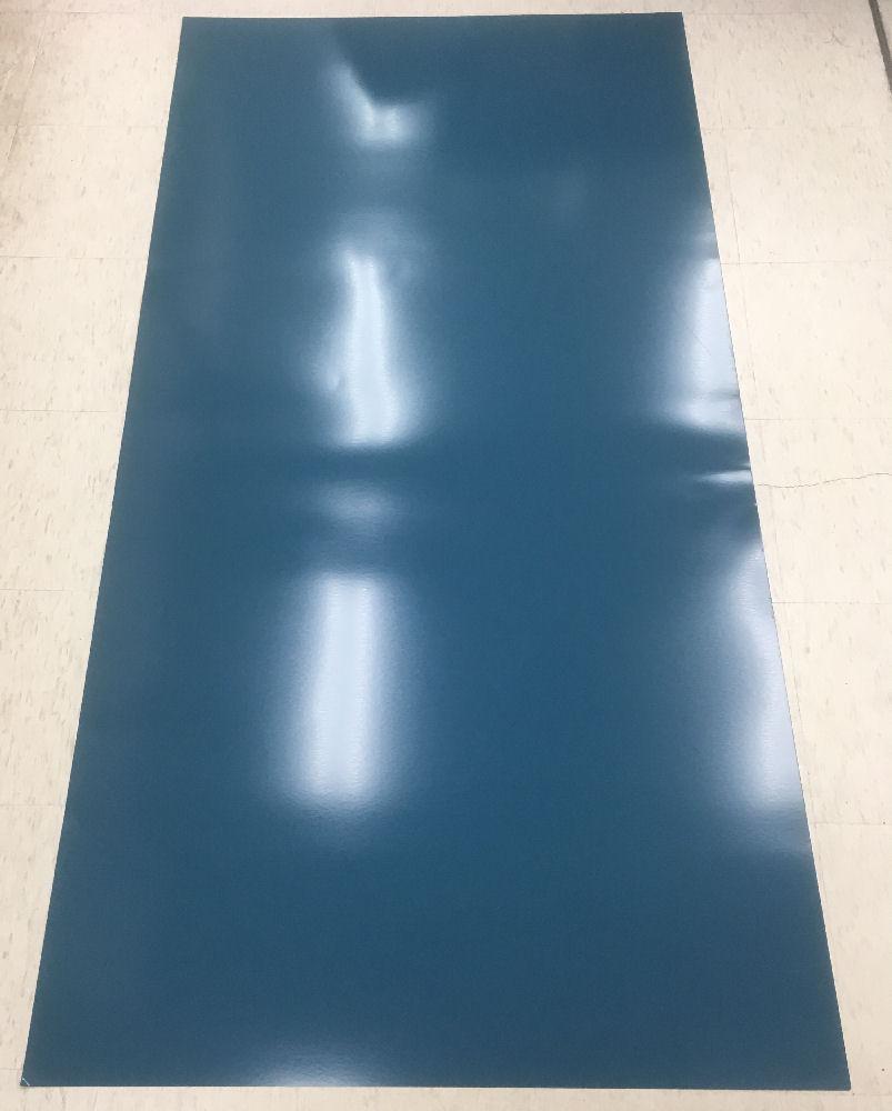 カラー平トタン ブルー 0.27×3×6