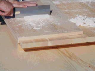 スプルスめん切り板固定式L