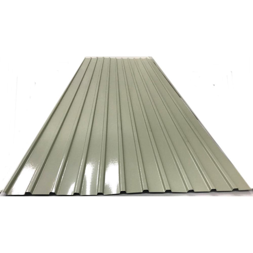 カラートタン角波 0.17mm厚 クリーム 7尺