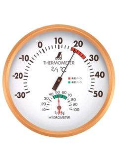 シンワ 温湿度計 丸型 各種