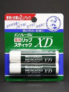 ロート メンソレータム薬用リップXD 2個パック