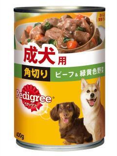 マース ペディグリー 成犬用 ビーフ&野菜・スープ 400g