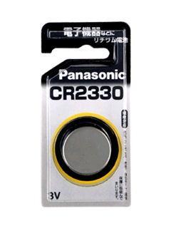 【アウトレット品】パナソニック コイン形リチウム電池 CR2330