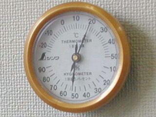 丸型温湿度計 U-3