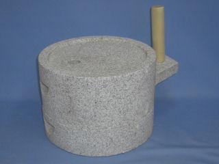 みかげ石 挽き臼 30cm