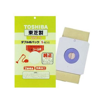 東芝 純正紙パック 5枚入 VPF-6