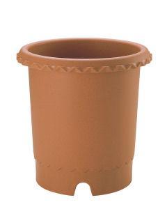 【クリックでお店のこの商品のページへ】リッチェル バラ鉢 6号 ブラウン