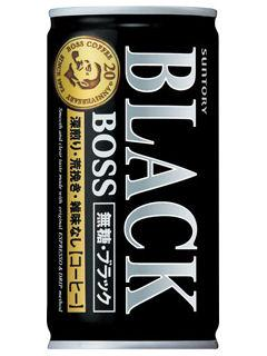 サントリー ボス 無糖ブラック 185g