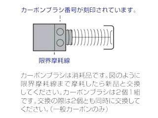 マキタ カーボンブラシ CB-408