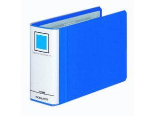 コクヨ チューブファイル両開き(エコツインR) フ-RT658B 50mmE(横型) 青