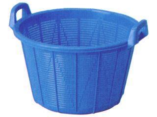 アロン 塩水選カゴ 36L ブルー